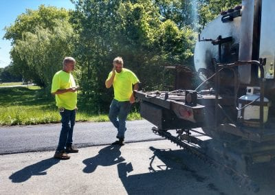 paving road services